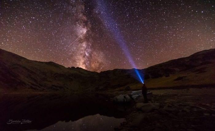 Млечният път от Рибни езера, Рила